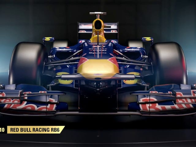 Oh, so the Red Bull RB6 is a classic car, now.