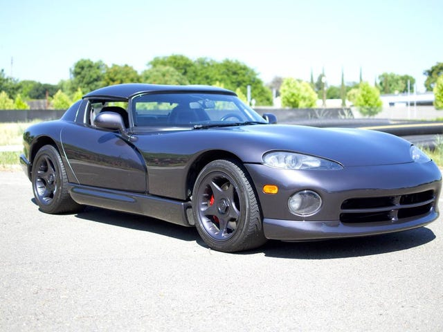 At $29,999, Will This 1996 Dodge Viper RT/10 Have You Shouting, Snakes Alive?