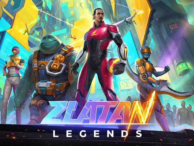 Oh Man Zlatan Has A Video Game And It Looks Perfectly Zlatan