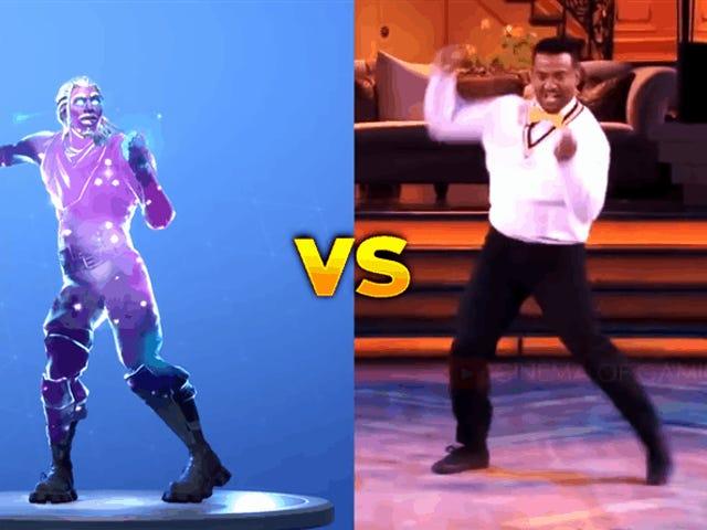 <i>Fresh Prince's</i> Αλφόνσο Ριμπέιρο του <i>Fresh Prince's</i> <em></em>  Είναι <i>Fortnite</i> πάνω από το χορό Carlton