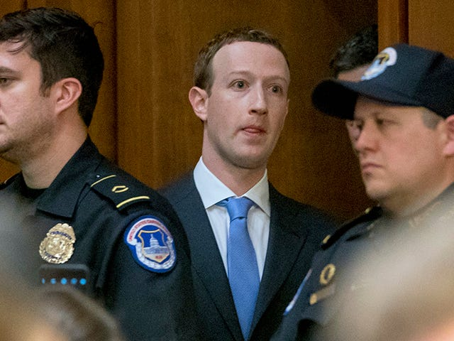 The Giant List of Shit Mark Zuckerberg Swears He'll Get Back to Congress on