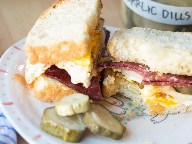 Your Breakfast Sandwich Needs Pickles
