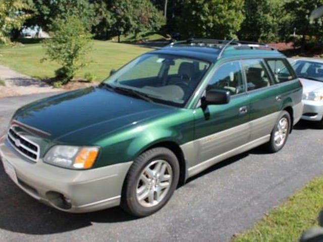 Since it's green car day, my first car: