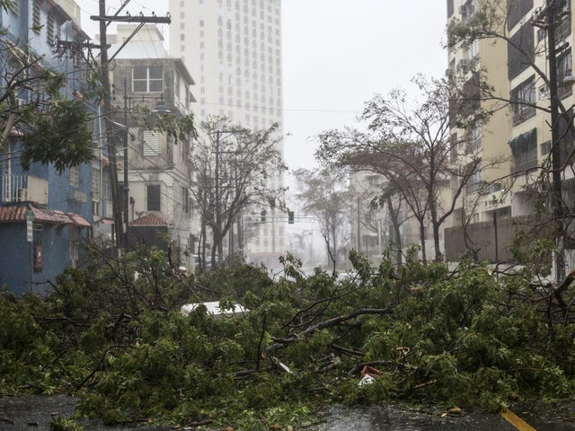 Hurricane Maria Has Knocked Out Power to Literally All of Puerto Rico