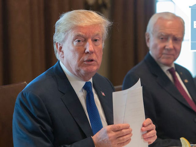 'We Are So Close Right Now,' Trump Says as House and Senate Come to Agreement on Tax Bill