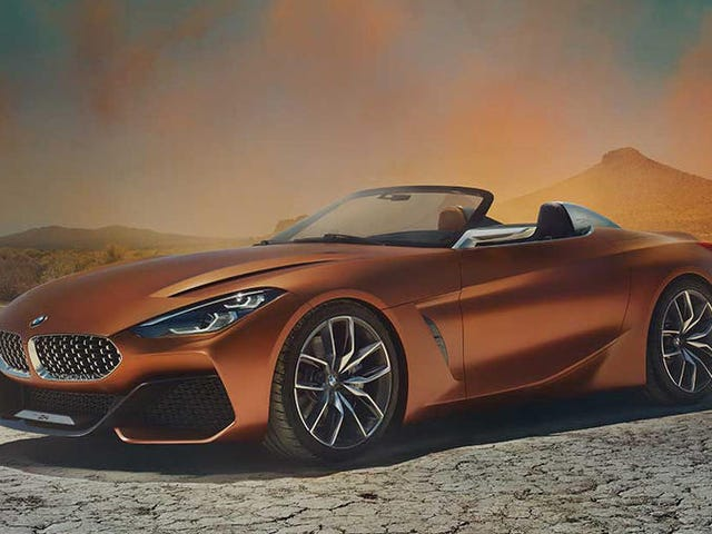 The Gorgeous BMW Z4 Concept Proves The Sports Car Isn't Dead