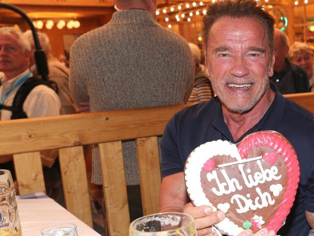 Tertuduh Serial Groper Arnold Schwarzenegger Denounces Confessed Groper Donald Trump