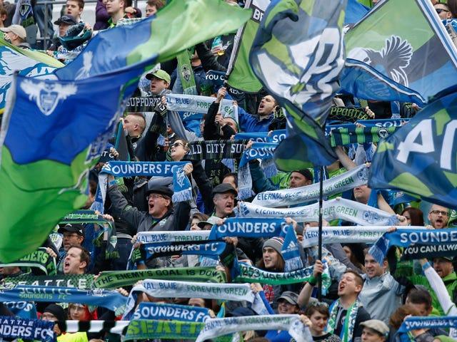 Seattle Sounders Fans Keluar Dari Pertandingan Karena Larangan Protes MLS