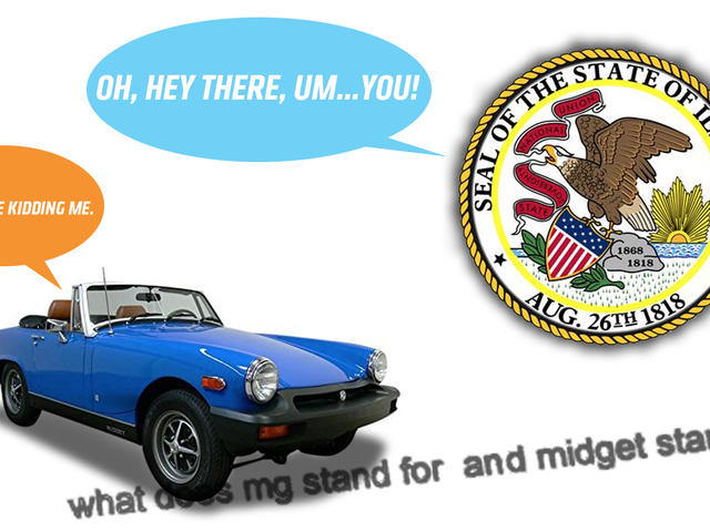 Держава штату Індіана не знає, що таке MG Midget