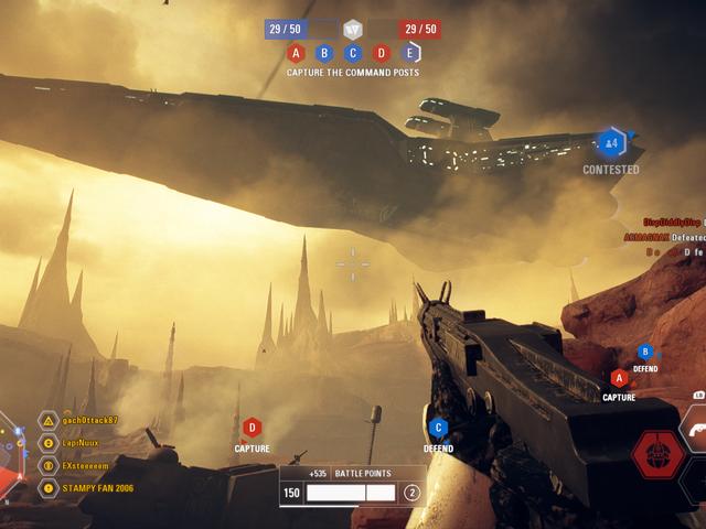 Star Wars: Battlefront II la nuova modalità di Star Wars: Battlefront II è divertente, quando funziona