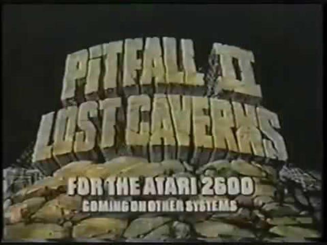 Sena TAY Retro: Atari 2600 |  Pitfall II: Lost Caverns |  TV-kommersiell (NA)