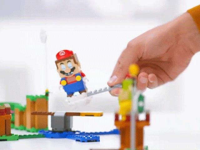 Lego Super Mario setter i gang i august, er ikke billig
