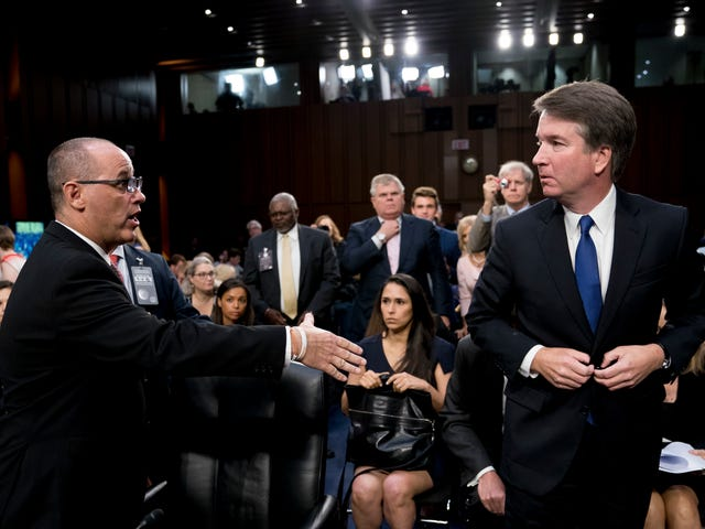 Brett Kavanaugh Is a Dick and the Look He GaveFred Guttenberg Proves It