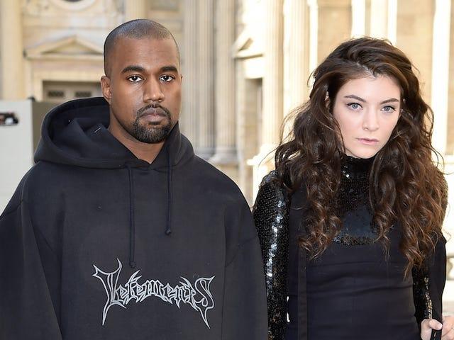 Goth Teens Lorde ja Kanye West ovat innoissaan olla mukana Dior-näyttelyssä