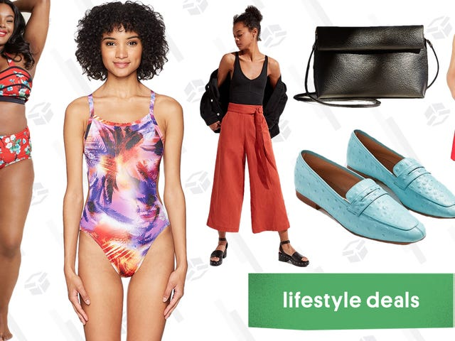 Tuesday's Best Lifestyle Deals: Amazon Swimwear, Urban Outfitters, J.Crew Factory, and More