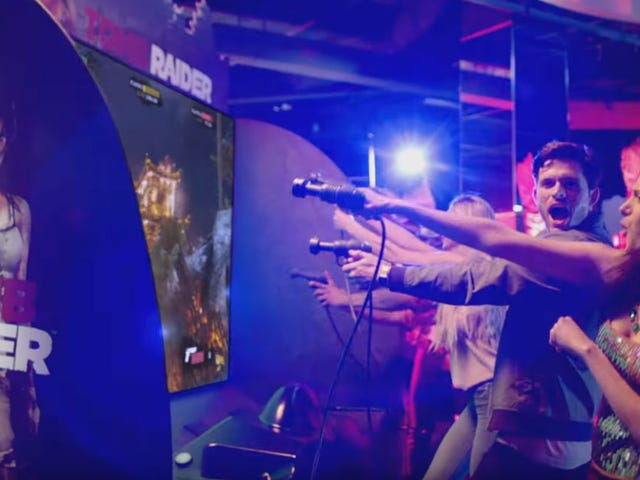 There's A New Tomb Raider Arcade Game