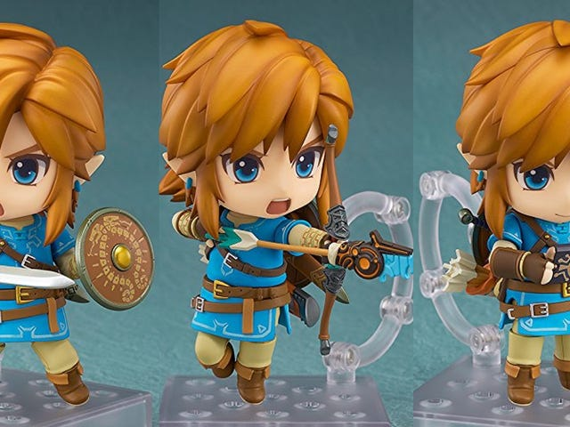 This Adorable and Customizable Link Can Kill the Bokoblins On Your Desk For $34