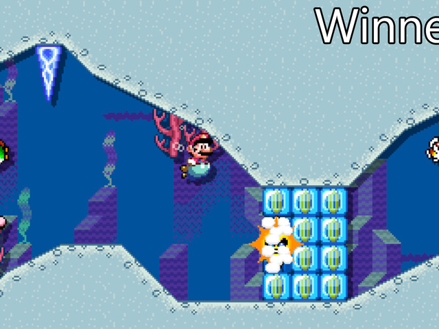 Mario Maker Contest: Water, Water Everywhere, Winners!