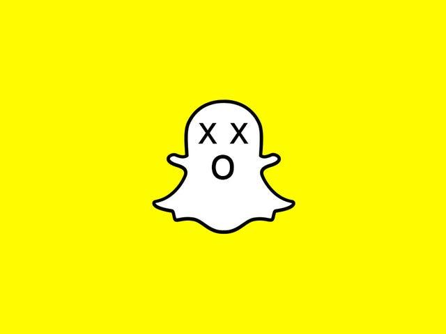 ¿Qué tan jodido es Snapchat?