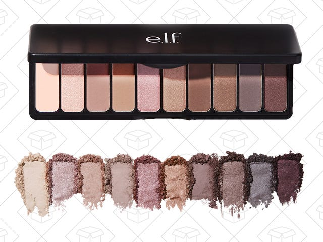 This e.l.f. Cosmetics Rose Gold Eyeshadow Palette Is Absolutely Worth Getting For $5