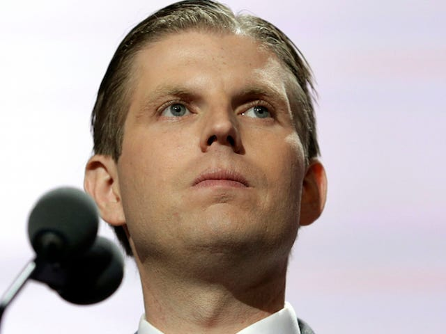 Heckled By Teens: The Eric Trump Story
