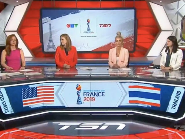 The USWNT's Blowout Of Thailand Inspires Indignant Pearl-Clutching From Canadian Soccer Pundits