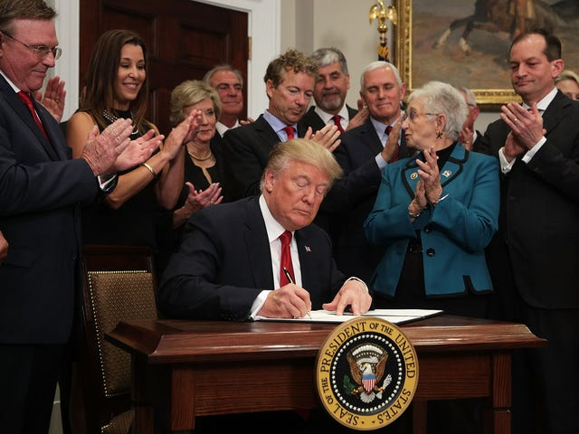 Trump Just Signed an Executive Order Crippling Obamacare