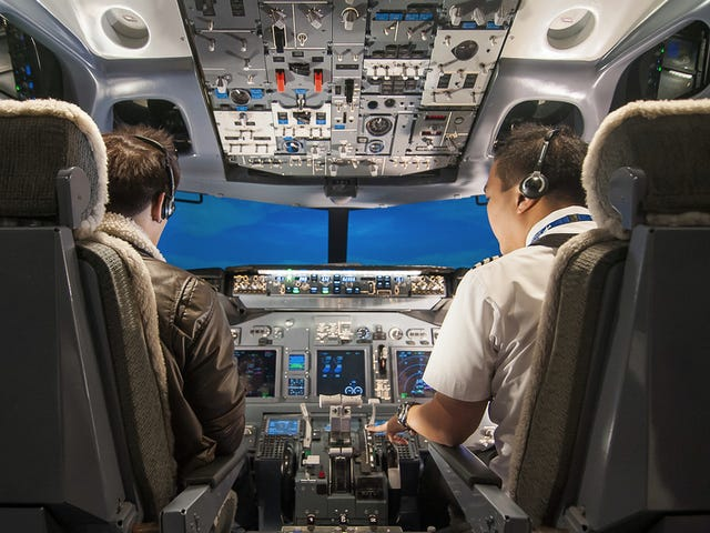 The Thought Of A Single-Pilot Airliner Is Just A Bit Scary