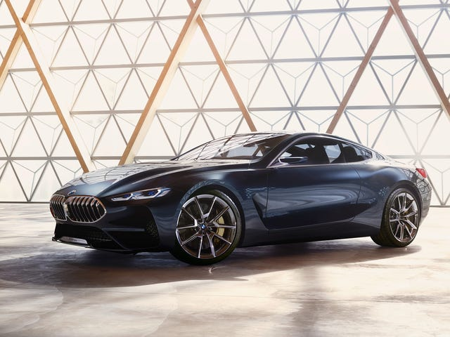 This Is The New BMW 8 Series Concept In All Its Glory