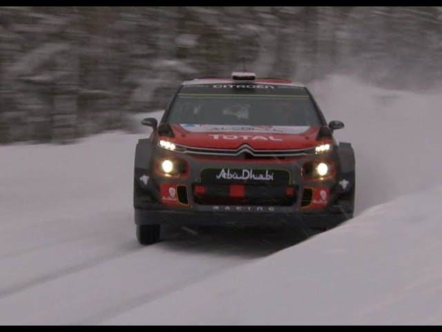 Rally Sweden is coming up