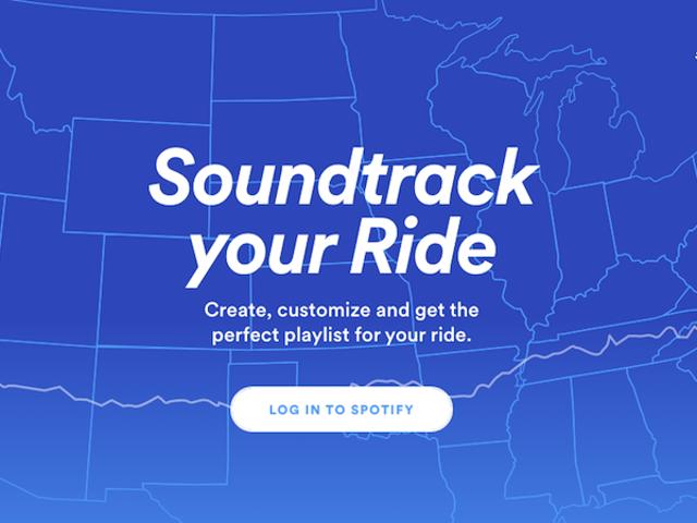 Spotify lanserar en ny funktion som skapar anpassade spellistor för långa resor