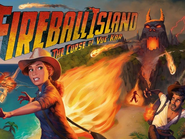 Fireball Island, One of the Coolest '80s Board Games, Is Getting a Reboot