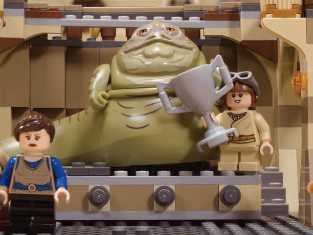С помощью Legos, это видео исследует серию глупых звездных войн, что если