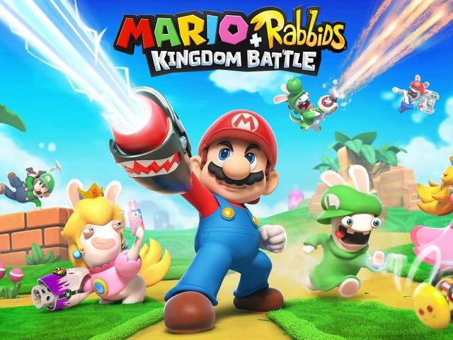 Ubisoft pregunta en una encuesta si estaríamos interesados en un Mario + RabbidsBattle Royale