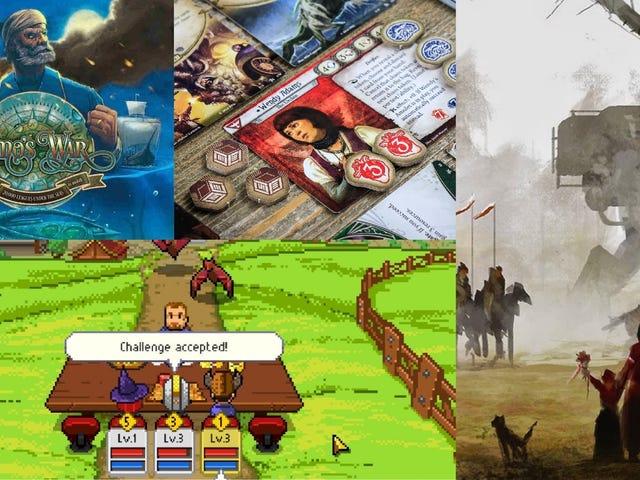12 brädspel och RPG-skivor du kan spela ensam medan du är social