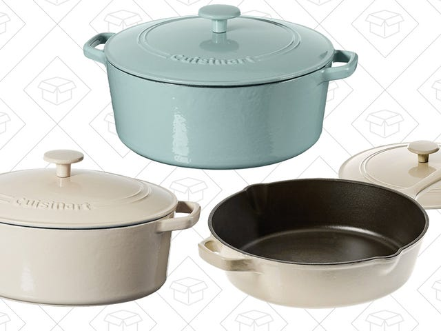 Cuisinart's Essential Cast Iron Cookware Is Deeply Discounted, Today Only