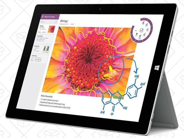Take Windows on the Go With The Surface Pro 3, Starting at $340 Today Only
