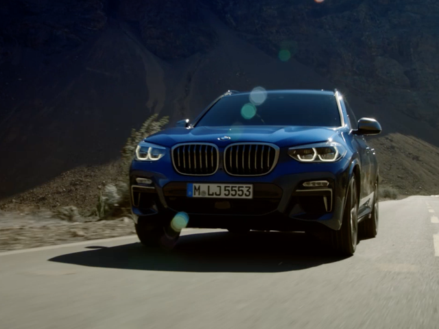 Here's The All-New 2018 BMW X3 If You Care About That Sort Of Thing