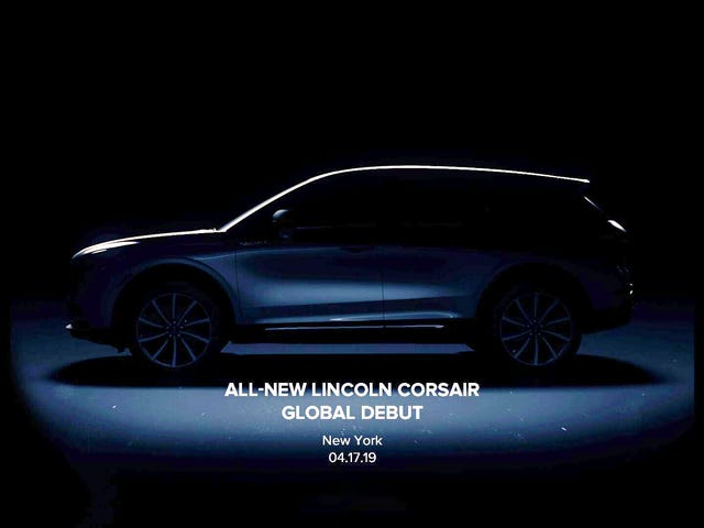 The 2020 Lincoln Corsair Is Officially Happening