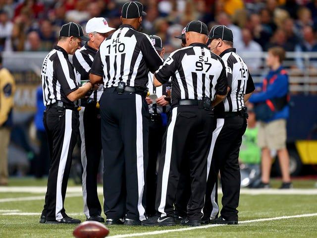 Die NFL stellt sicher, dass die Offiziellen in den Playoffs nicht versauen