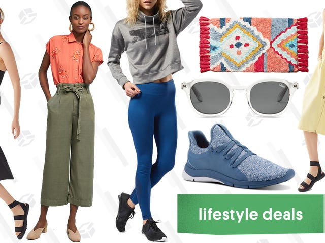 Monday's Best Lifestyle Deals: Urban Outfitters, Quay, Reebok, Anthropologie, and More