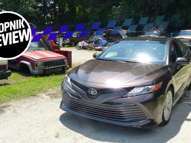 2018 Toyota Camry: Here's Why It's Still The Sedan King