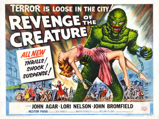 Svengoolie:  Revenge of the Creature (1955)