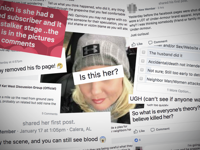 How Facebook Groups Turned the Killing of a Small-Town Mom Into a Lurid Whodunit<em></em>