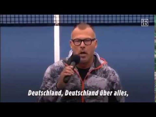"""US führt Nazi-Ära """"Deutschland, Deutschland über Alles"""" vor dem Fed-Cup-Spiel gegen Deutschland durch"""