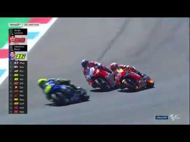 Isang oras na matagal na argumento kung bakit ang Moto GP ang pinakamahusay na karera na iyong pinapanood.