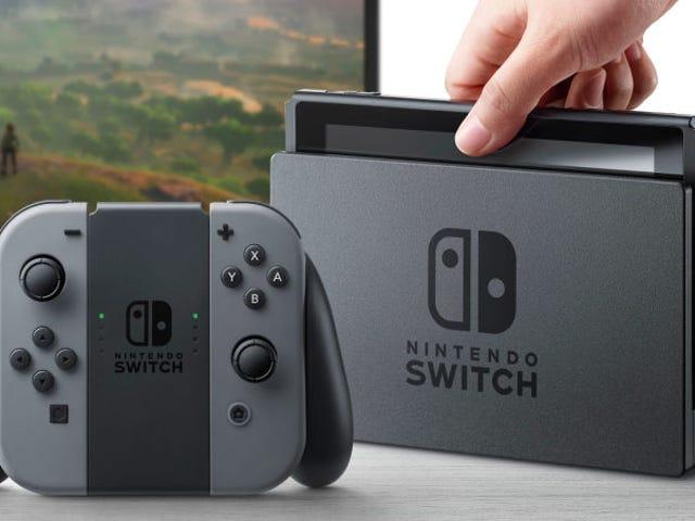 La nueva Nintendo Switch llegará en marzo y costa 300 dólares