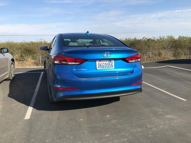 Rental Car: it's a color