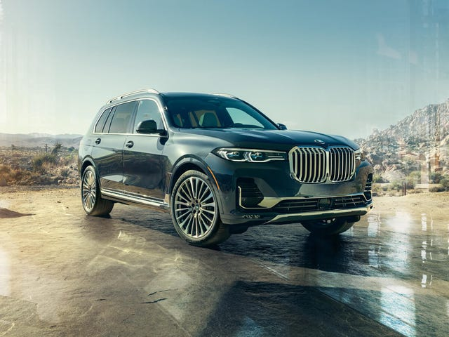 The 2019 BMW X7 starts at $73,900