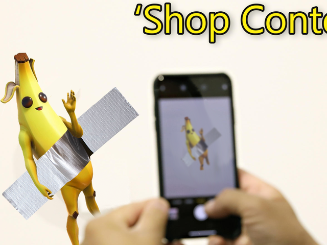 'Shop Contest: $120k Banana With Some Duct Tape